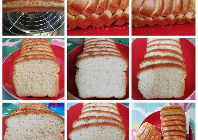 Resep Farmhouse White Loaf