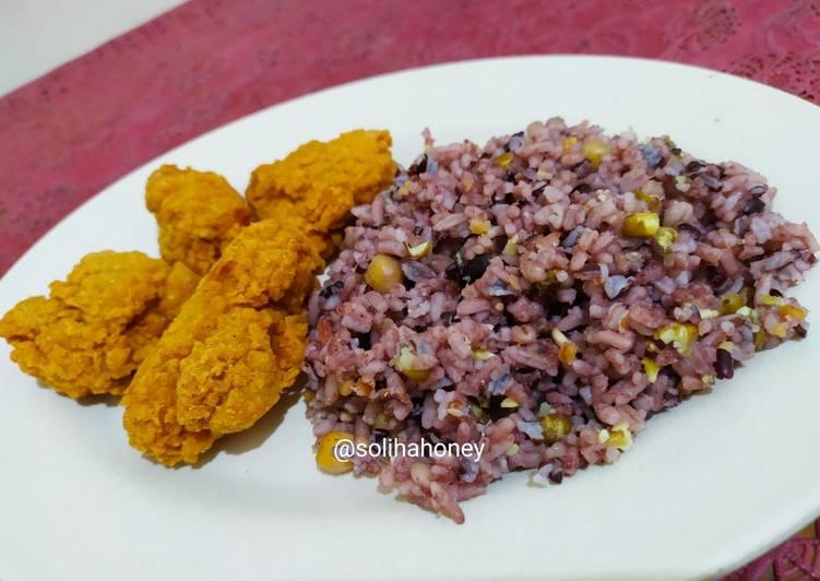 Resep Multi Grain Rice #cleaneating