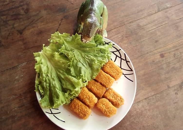Resep Nugget Ayam Tahu Roti Tawar