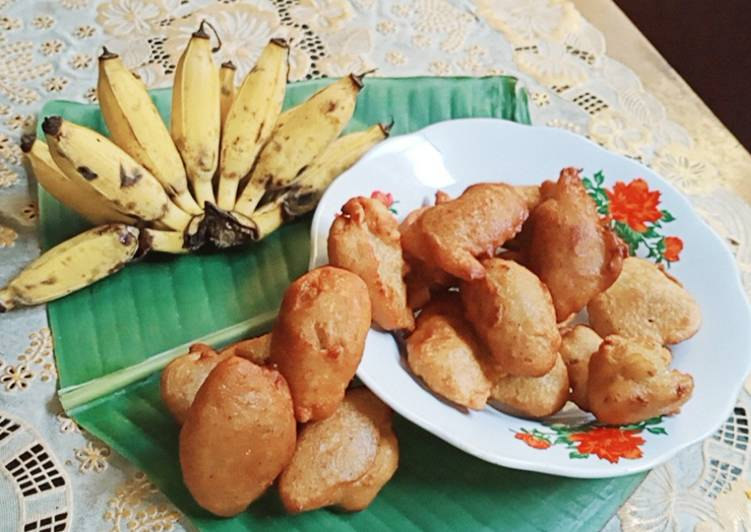 Resep Galundeng pisang jilit 2