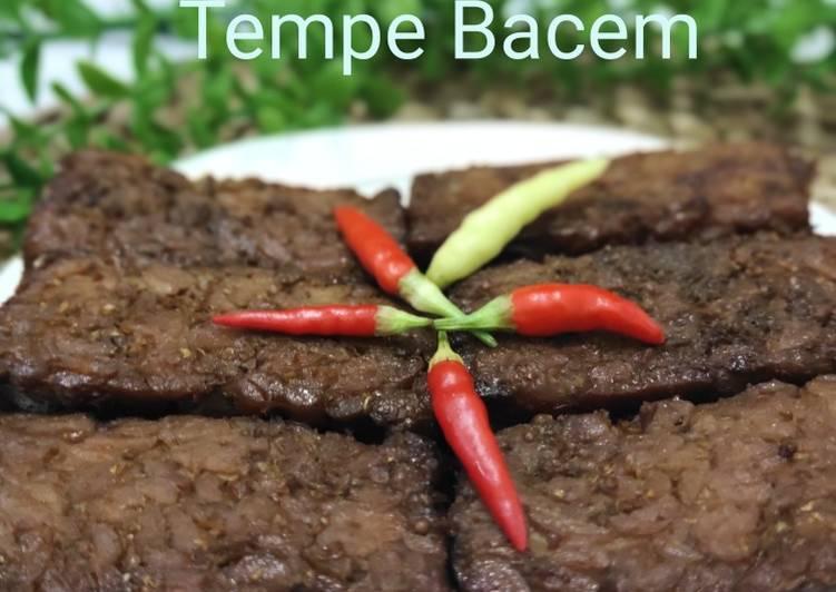 Resep Tempe Bacem
