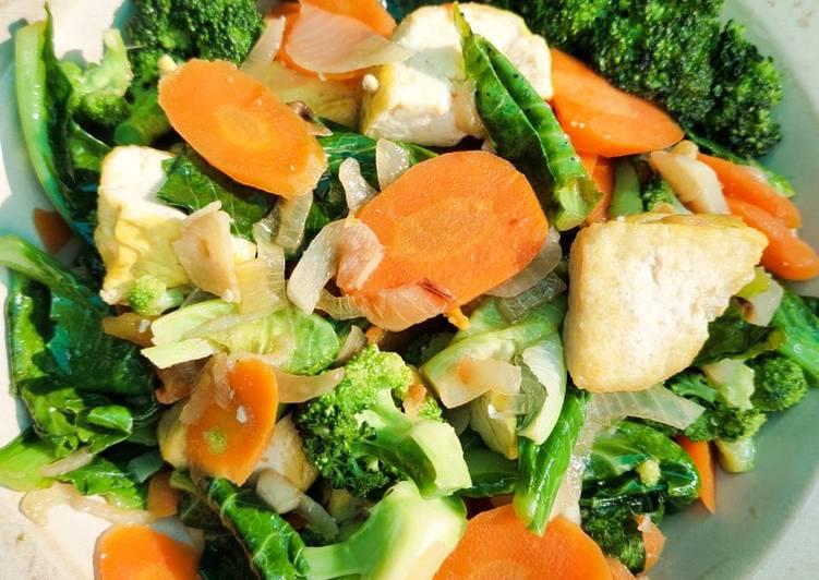 Resep Oseng Keciwis Brokoli dan Tahu Buat Toodler