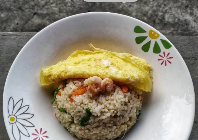 Cara Menyiapkan Nasi Goreng Udang Enak