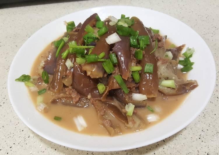 Resep Tumis terong vs daging