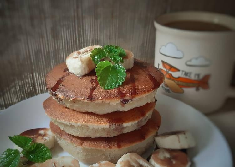 Resep Pancake Pisang Ambon