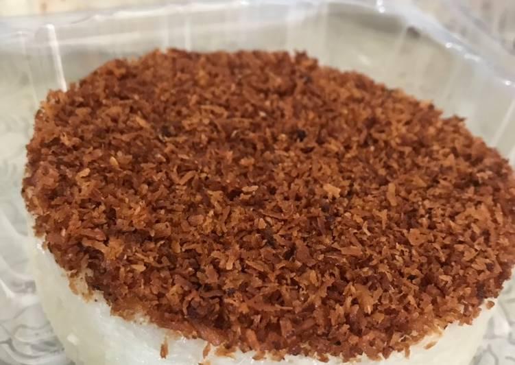 Resep Ketan Serundeng (Ricecooker)