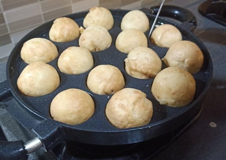 Resep Takoyaki homemade