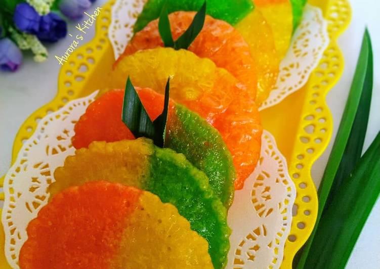 Resep Kue Cucur Pelangi