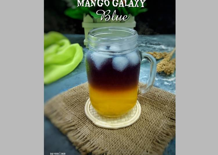 Resep 1MANGO GALAXY BLUE