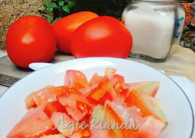 Resep Rujak Tomat