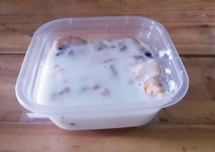 Resep Pudding Roti Banjir