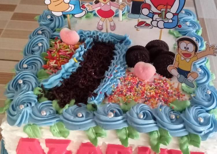 Resep Bolu jadul (Base Cake Ultah)