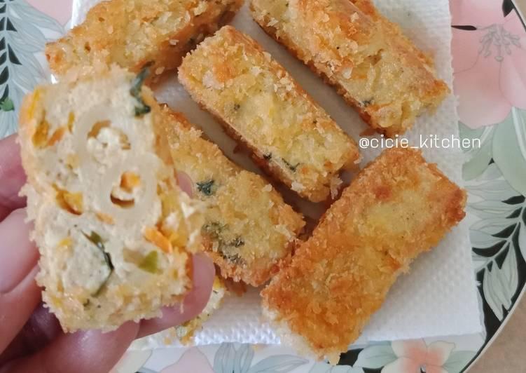 Resep Nugget Tahu Macaroni