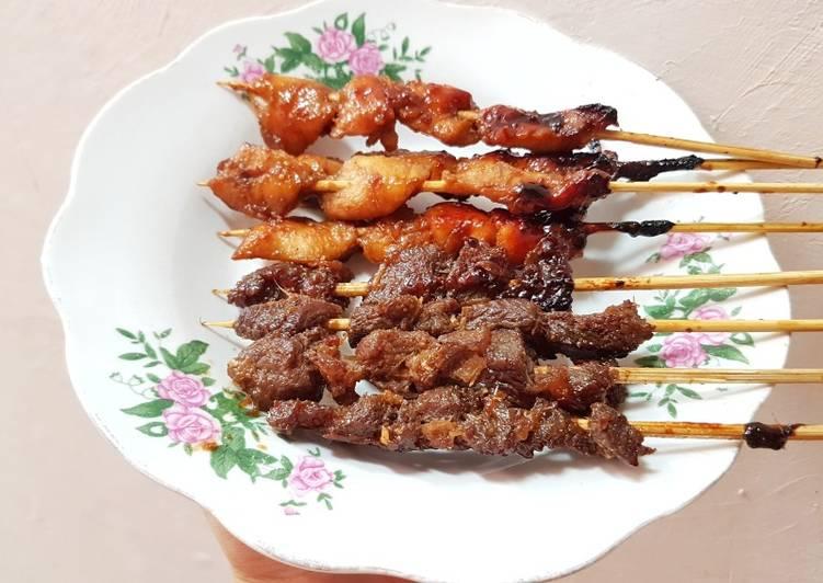 Resep Sate manis indonesia