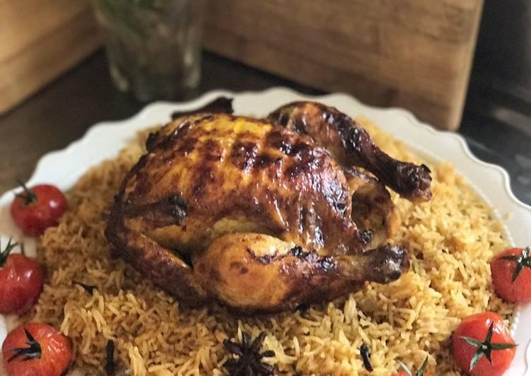 Resep Biryani rice Chicken