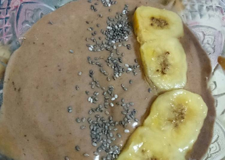Resep Choco Banana Smoothie