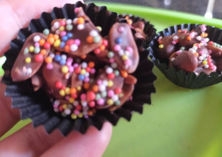 Resep Kue Kacang Coklat Springkle