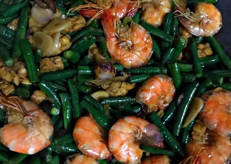Resep Tumis Kacang panjang udang