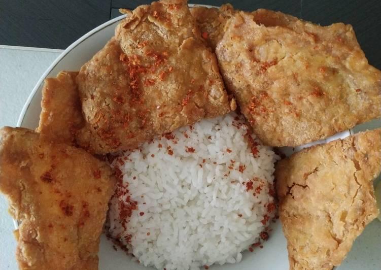 Resep Kulit Ayam Crispy Dari Telur