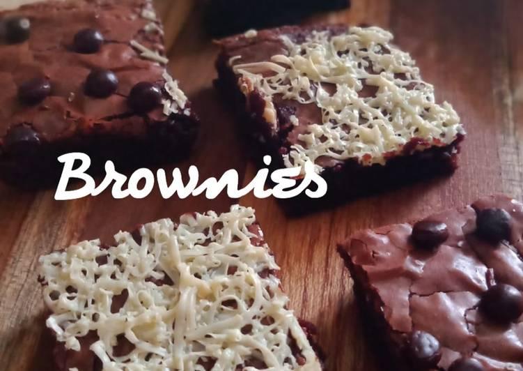 Resep Brownies Simple Tanpa Mixer