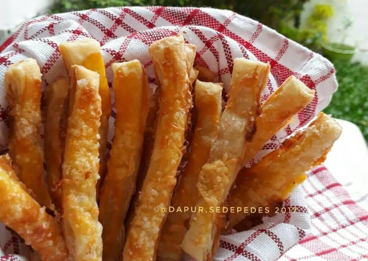 Resep Stick Puff Pastry