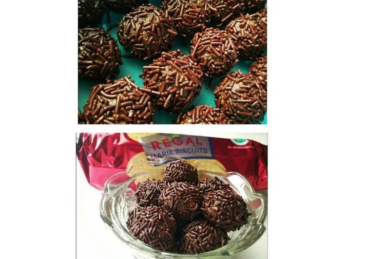 Resep Bola Coklat Marie #BikinRamadanBerkesan