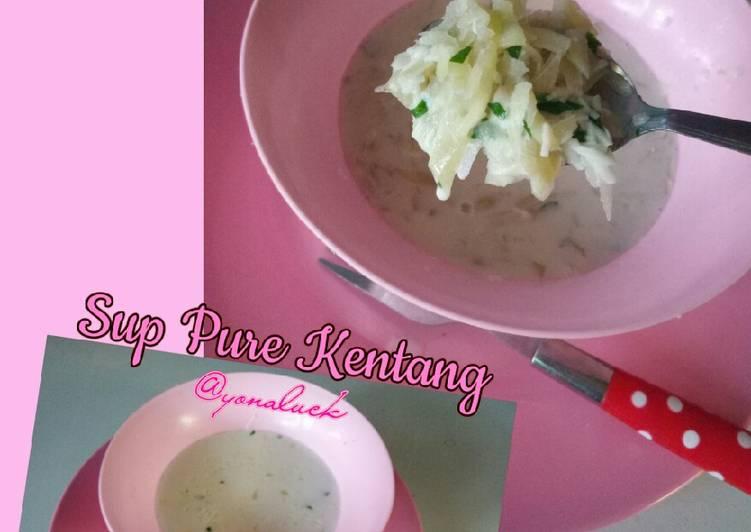 Resep Sup Pure Kentang