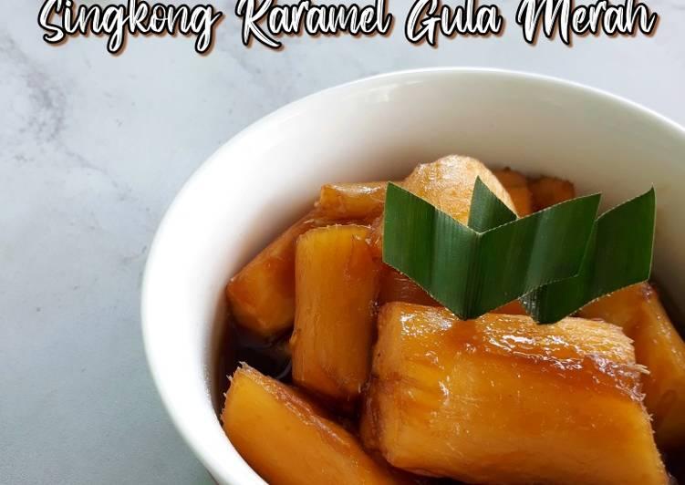 Resep Singkong Karamel Gula Merah