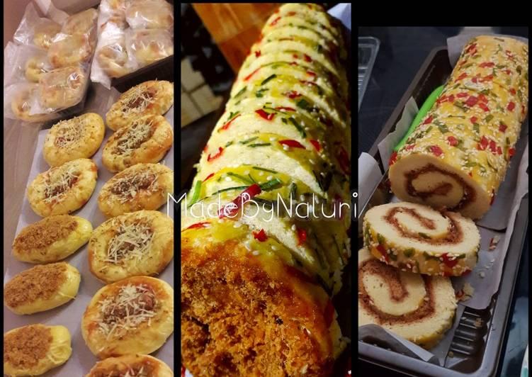 Resep Basic dough untuk roti manis,pizza,floss bun&floss roll abon