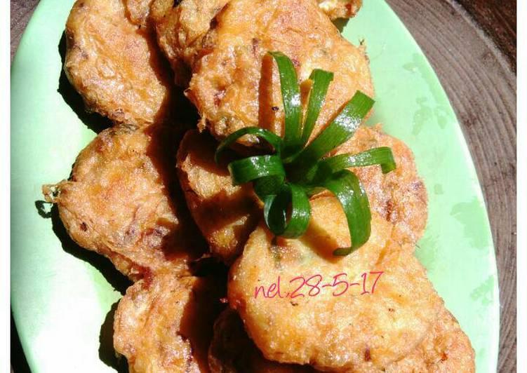 Resep Perkedel/begedel kentang mudah bingiit