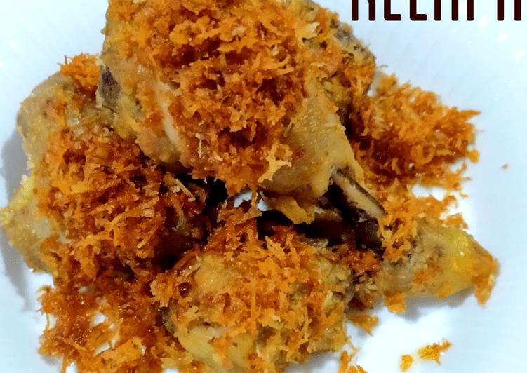 Resep Ayam Goreng Kelapa