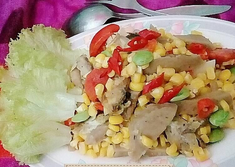 Resep Jagung manis mix