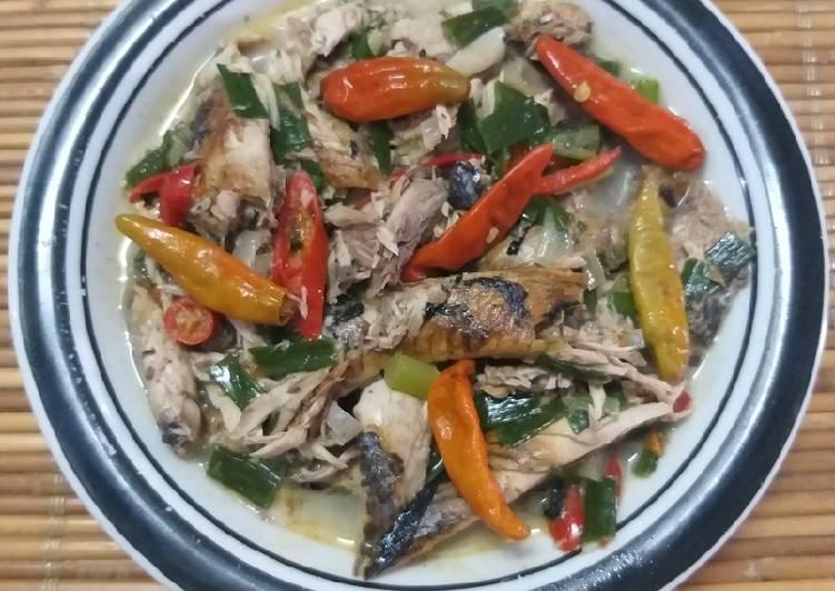 Resep Pindang tongkol masak santan