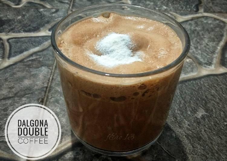 Resep Dalgona Double Coffee