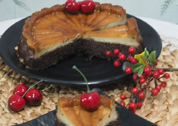 Resep Chocoflan Cake