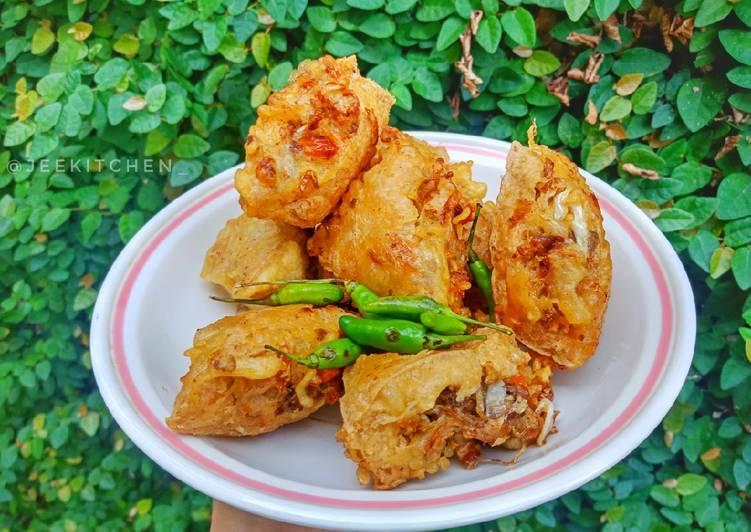 Resep Gehu Daging Jeletot / Tahu isi Daging Pedas