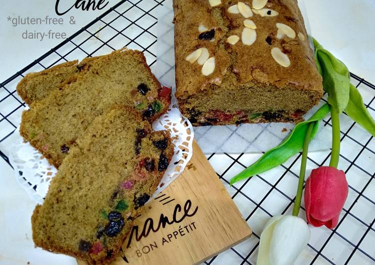 Resep 26.English Fruit Cake *gluten-free & dairy-free