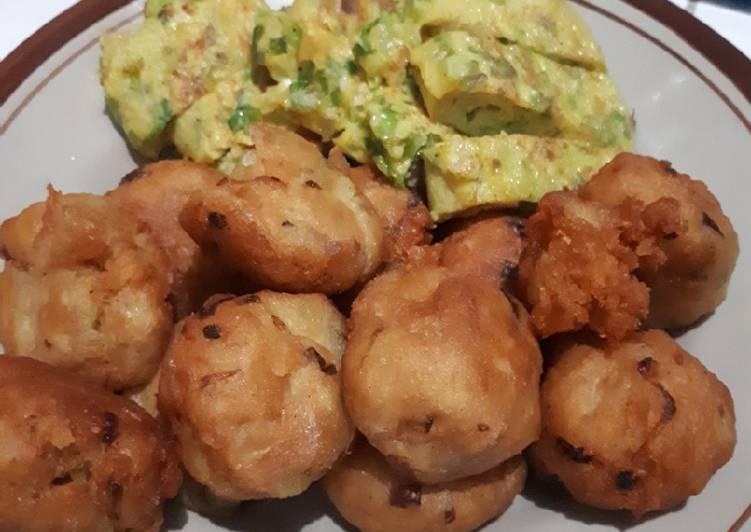 Resep Perkedel kentang krispi simpel