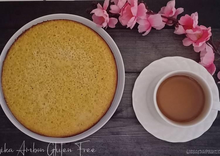 Resep (43.Bika Ambon Gluten-free