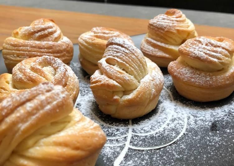 Resep Cruffin / Croissant Muffin