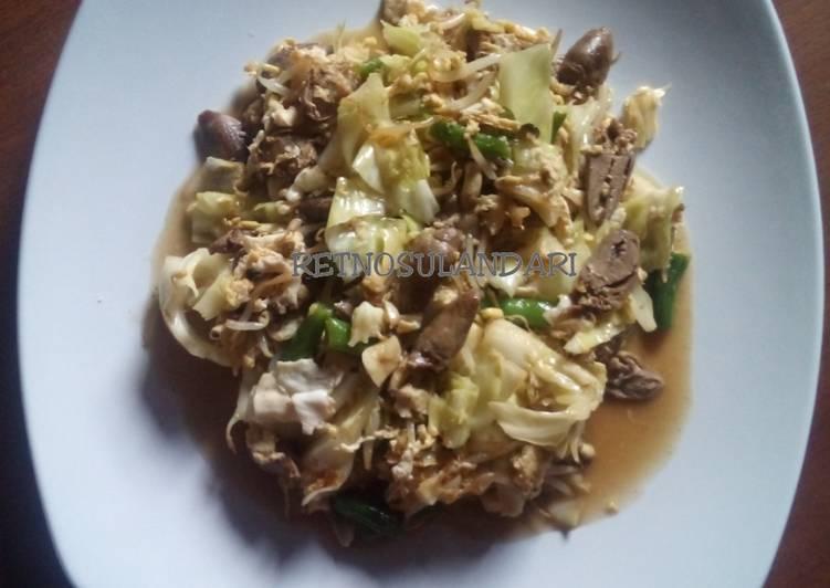 Resep Cah sayuran (sederhana)