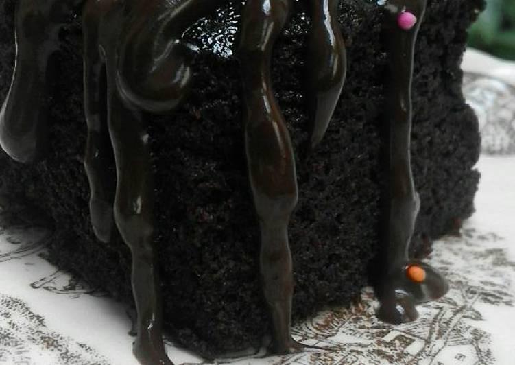 Resep Eggless Chocolate Cake