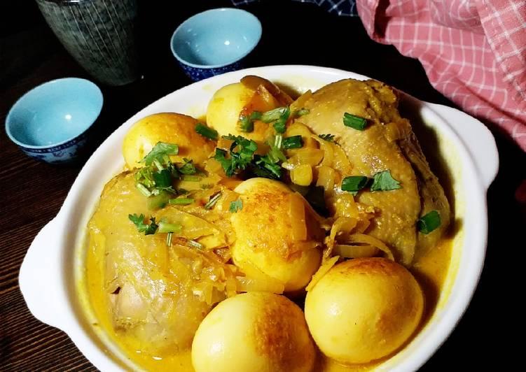 Resep Kari Ayam Telur Bumbu Sederhana