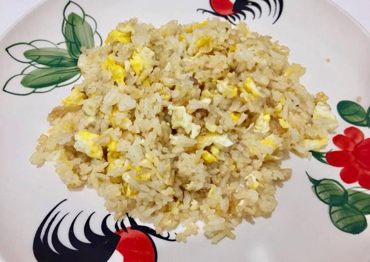 Resep #- Nasi goreng gurih tanpa kecap manis