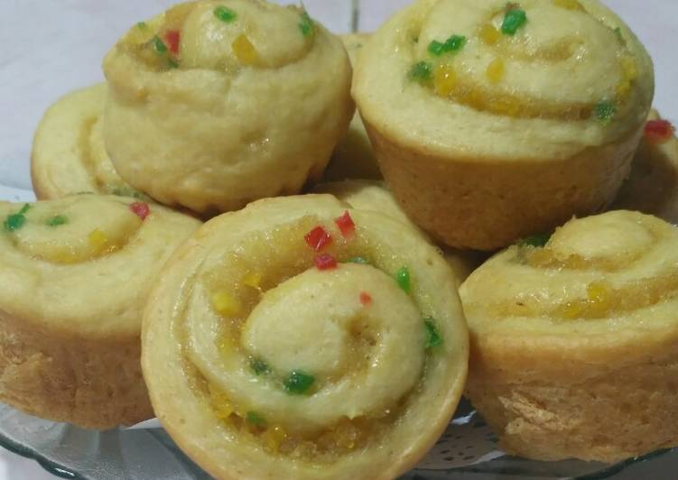 Resep Pizza Roll Manis