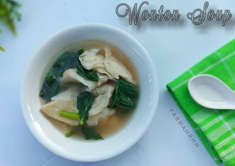 Resep Wonton Soup
