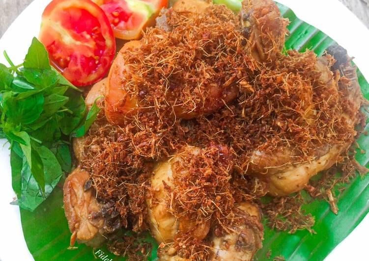 Resep Ayam Goreng Lengkuas / Ayam Laos