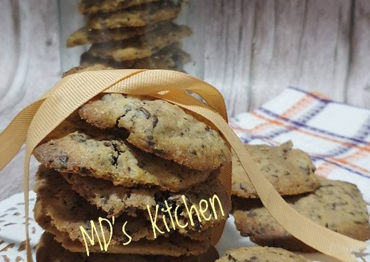 Resep Choco Raisin Cookies