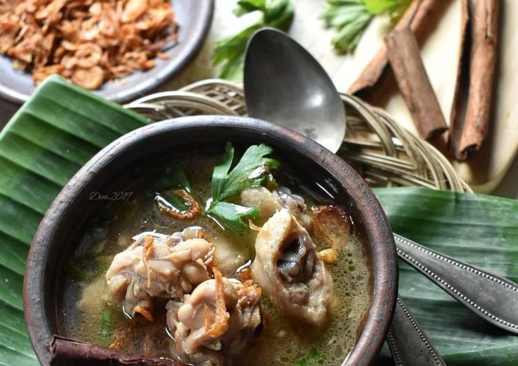 Resep Sop Ayam Pak Min Klaten