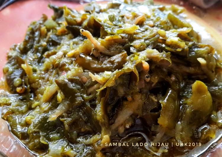 Resep Sambalado hijau
